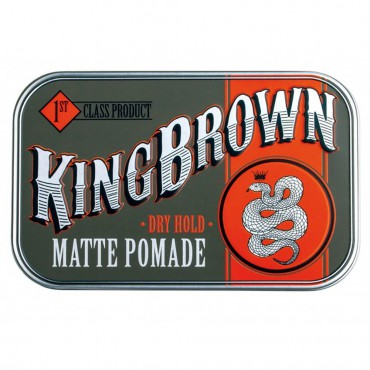 "King Brown ""Matte"" Pomáda"