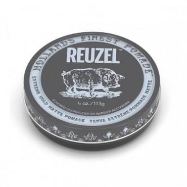 """REUZEL """"EXTREME HOLD"""" POMÁDA ŠEDÁ"""