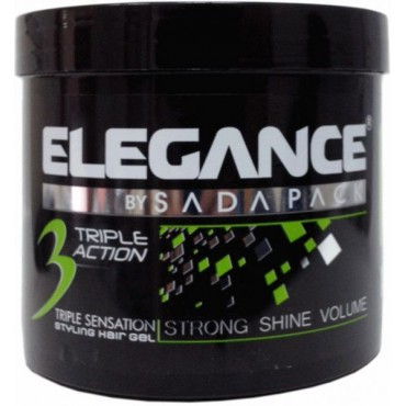 "Elegance ""Strong shine and volume"" gél na vlasy"