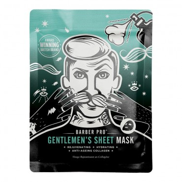 "BARBER PRO - ""Gentlemen's Sheet"" Hydratačná Maska"