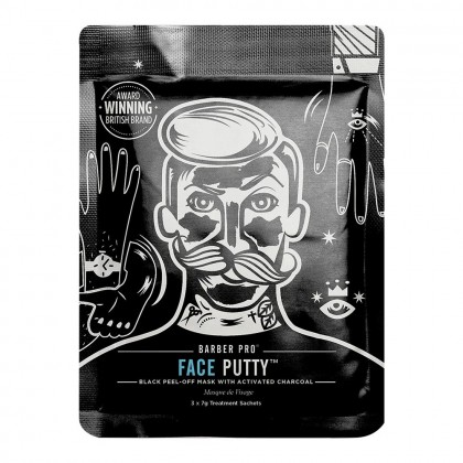 "BARBER PRO - ""Face Putty"" Čierna Maska na Tvár"