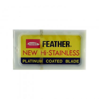 Žiletky na Holenie - Feather Platinum Coated