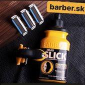 Znacka Headblade dnes dorazila na nas sklad, klikaj www.barber.sk #headblade #barbersk #headslick #headlube #atx #headblademoto #clearhead
